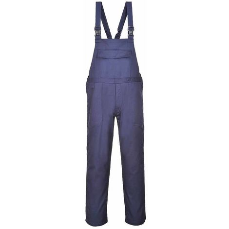 Portwest - Bizflame Pro Flame Resistant Safety Workwear Bib & Brace Dungarees