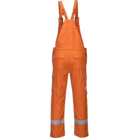 Portwest - Bizflame Ultra Flame Resistant Safety Workwear Bib and Brace Dungarees