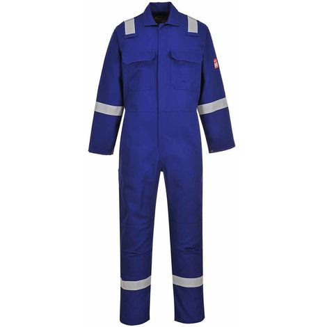 Portwest - Bizweld Flame Resistant Safety Workwear Iona Coverall Boilersuit
