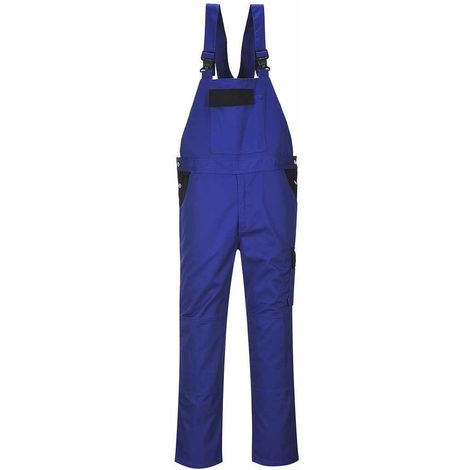 Portwest - Bremen Tough Workwear Uniform Durable Triple Stitched Bib & Brace