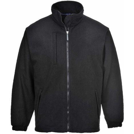 Portwest - BuildTex Workwear Laminated Showerproof Anti Pill Fleece Jacket