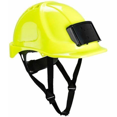 Portwest - Casque Endurance avec porte-badge - PB55 Taille : Taille unique