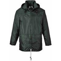 Portwest Classic Rain Jacket - Olive  - Large - S440