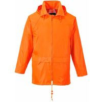 Portwest Classic Rain Jacket - Orange  - 4XL - S440