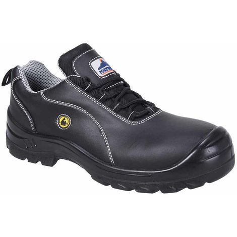 Portwest - Compositelite ESD Leather Work Safety Shoe S1