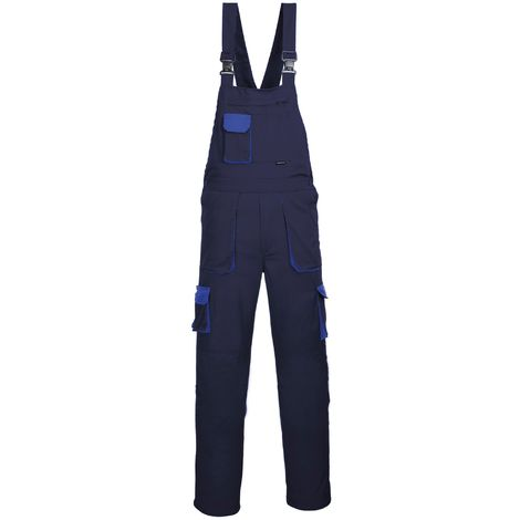 Portwest Contrast Bib & Brace / Workwear (Pack of 2)
