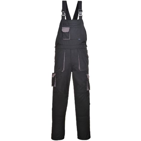 Portwest Contrast Bib & Brace / Workwear (Pack of 2)