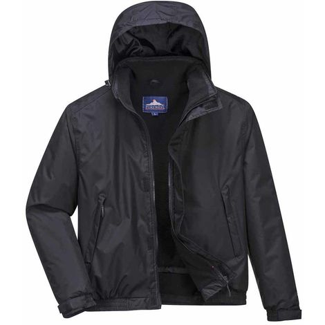 Portwest - Crux Insulated Waterproof Bomber Jacket With Pack Away Hood