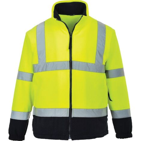 Portwest F301 HI-VIS FLEECE YELLOW (M)