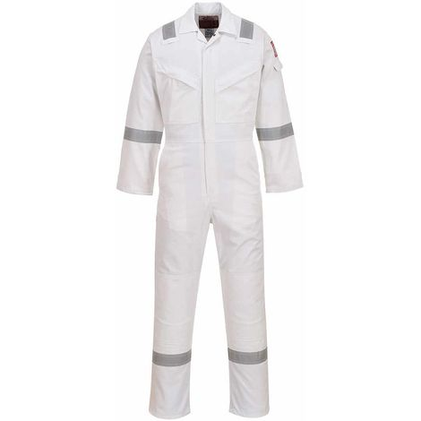 Portwest - Flame Resistant Safety Workwear Anti-Static Coverall Boilersuit