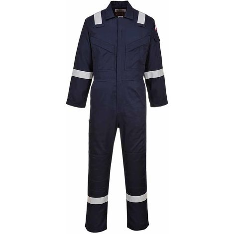Portwest - Flame Resistant Super Light Weight Anti-Static Coverall 210g