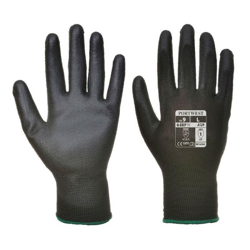 Gant PU (12 paires) - A129 Taille : M - Portwest