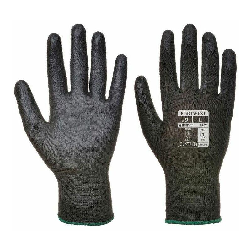 Gant PU (12 paires) - A129 Taille : L - Portwest
