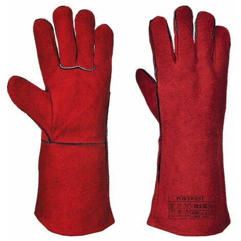 Portwest - Gant Soudeur A500 - A500 - Rouge - XL