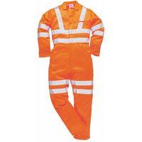 Portwest Hi-Vis Poly-cotton Coverall GO/RT - Orange - RT42