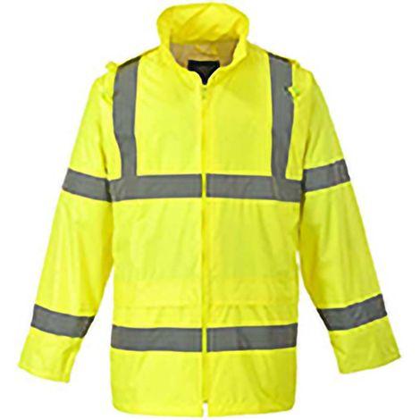 Portwest Hi-Vis Rain Jacket (H440) / Safetywear / Workwear