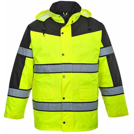 Portwest - Hi-Vis Safety Classic Two Tone Workwear Jacket