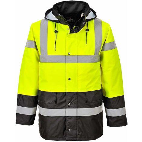 Portwest - Hi-Vis Safety Contrast Traffic Workwear Jacket