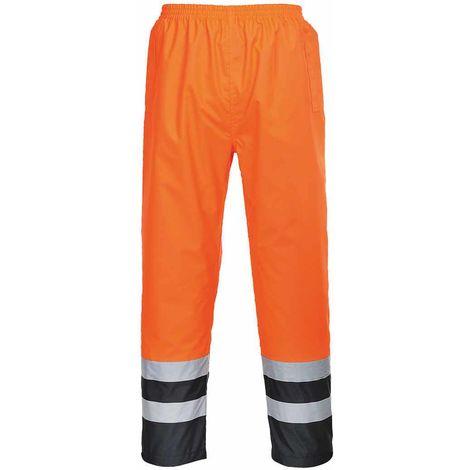 Portwest - Hi-Vis Safety Two Tone Traffic Waterproof Workwear Trousers