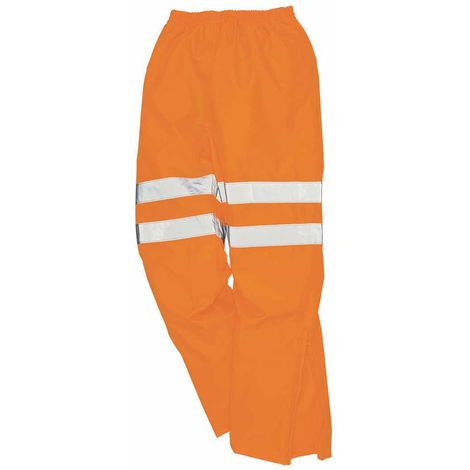 Portwest - Hi-Vis Safety Workwear Breathable Rail Track Side Trousers