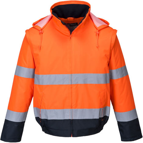 Portwest - Hi-Vis Safety Workwear Essential 2 in 1 Jacket