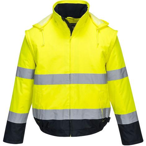 Portwest - Hi-Vis Safety Workwear Essential 2 in 1 Jacket