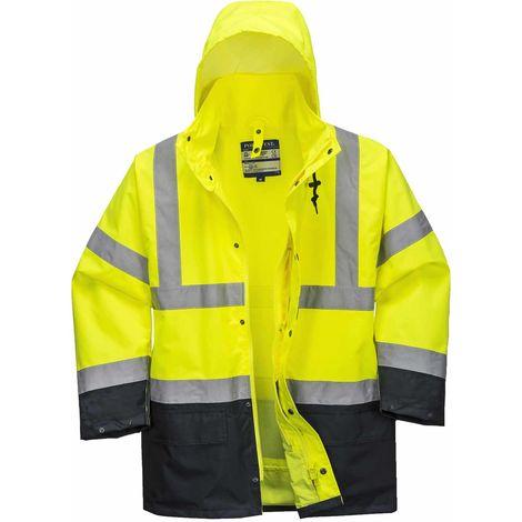 Portwest - Hi-Vis Safety Workwear Essential 5-in-1 Two Tone Jacket