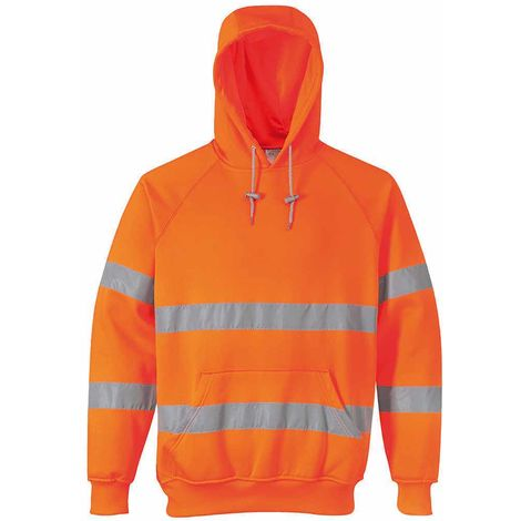 Portwest - Hi-Vis Safety Workwear Hooded Sweatshirt