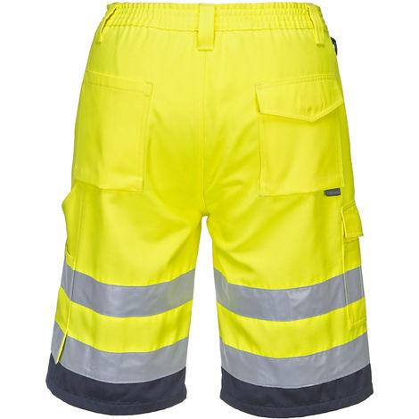 Portwest - Hi-Vis Safety Workwear Poly-cotton Shorts