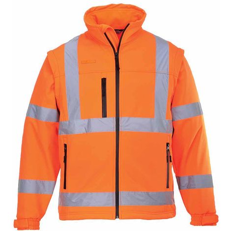 Portwest - Hi-Vis Safety Workwear Softshell Workwear Jacket (3L)