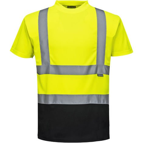 Portwest - Hi-Vis Safety Workwear Two Tone T-Shirt