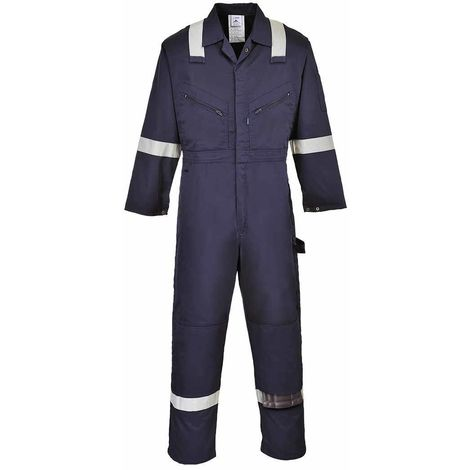 Portwest - Iona Hi-Vis Safety Workwear Coverall Boilersuit