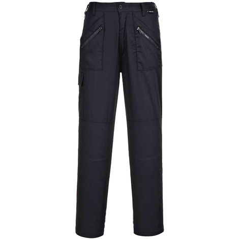 Portwest - Ladies Outdoor Workwear Elasticated Action Cargo Trousers