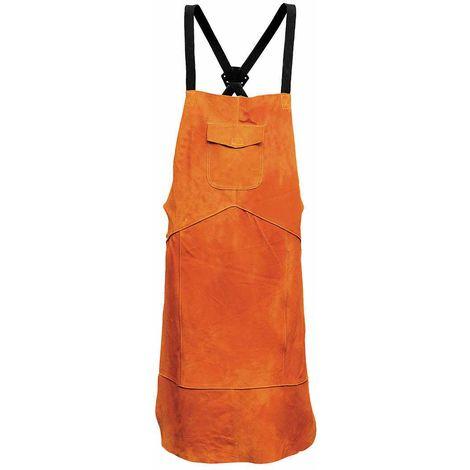 Portwest - Leather Welding Apron Tan Regular
