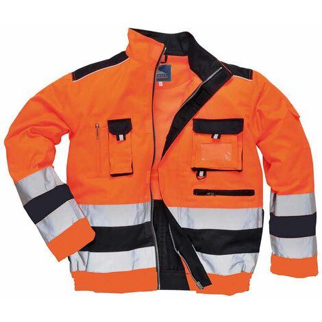 Portwest - Lille Texo Premium Workwear Uniform Two-Tone Hi-Vis Safety Jacket