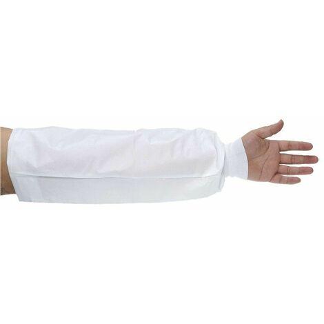 Portwest - Manchettes Biztex microporeux avec poignets tricot type 6PB (x150 paires) - ST47 - Blanc - Unique