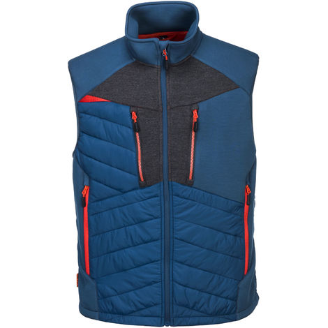 Portwest Mens 4 Way Stretch Fabric DX4 Baffle Gilet Jacket