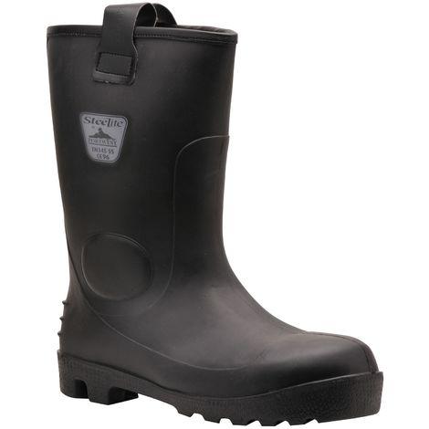Portwest Mens Steelite Neptune Waterproof Safety Rigger Boots