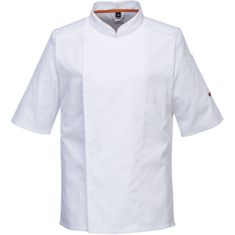 Portwest - MeshAir Pro Chefs Short Sleeved Kitchen Jacket