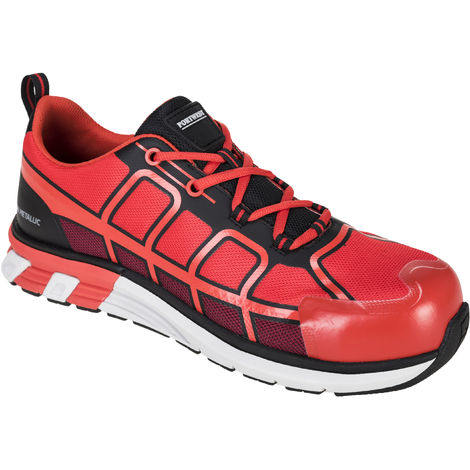 Portwest - OlymFlex Barcelona Safety Footwear Trainer Shoe S1P