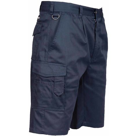 Portwest - Outdoor Workwear Elasticated Durable Cargo Combat Shorts