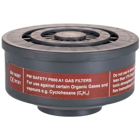 """main image of """"Portwest P900GRR - sz A1 Gas Filter Special Thread Connection - Grey"""""""