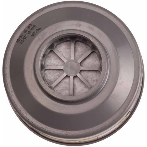 Portwest - Pack of 6 Class P3R Particle Filters Special Thread Connection, Grey, Regular,