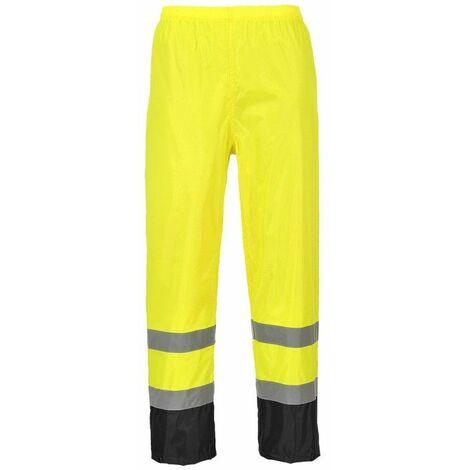 Portwest - Pantalon de pluie HV bicolore Portwest - H444