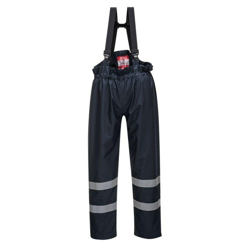 Pantalon pluie multirisques non doublé Bizflame - S772 Taille : XL - Portwest