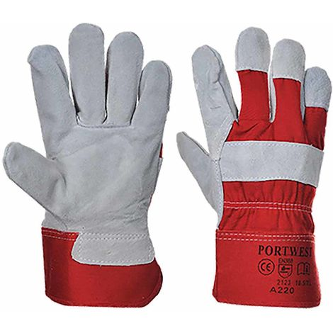 Portwest - Premium Chrome Rigger Glove (1 Pair Pack)