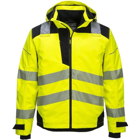 Portwest - PW3 Hi Vis Rain Shell Jacket