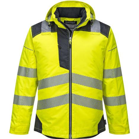 Portwest - PW3 Vision Hi-Vis Safety Workwear Rain Jacket