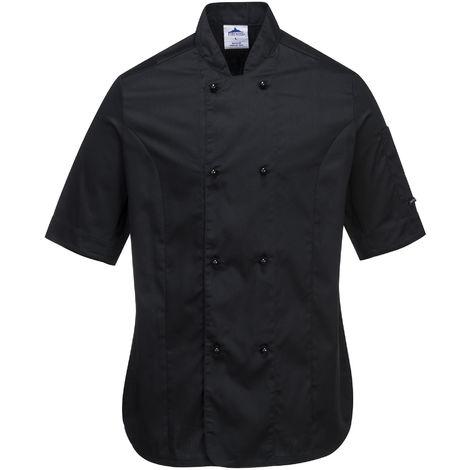 Portwest - Rachel Ladies Short Sleeve Chefs Jacket