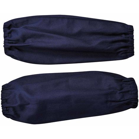 Portwest - Safety Workwear Bizweld Sleeves, Navy, One size,